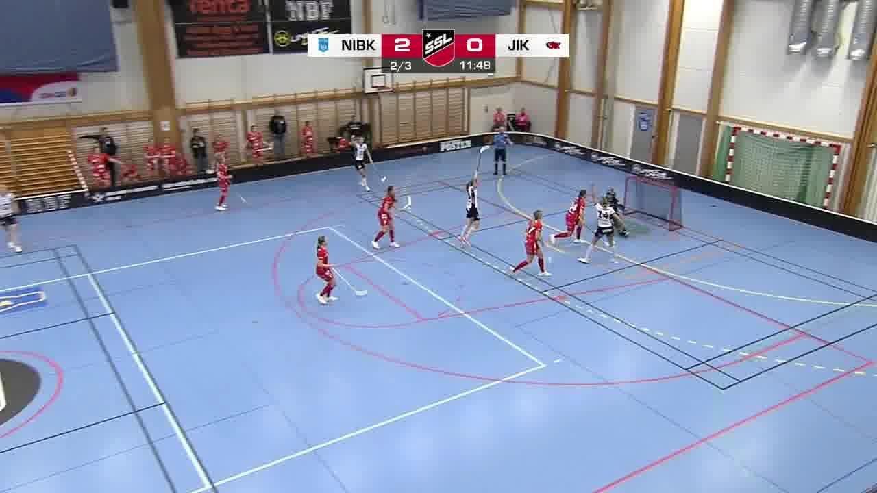 Highlights: Nacka Wallenstam IBK - Jönköpings IK