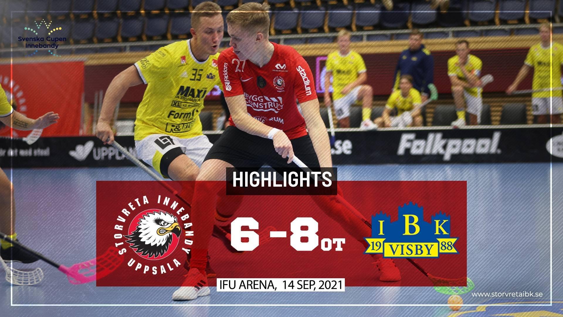 Highlights Storvreta IBK vs Visby IBK 6-8 OT