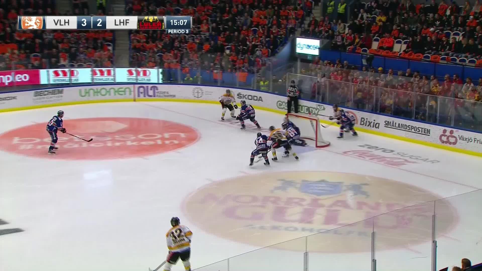 Växjö Lakers - Luleå Hockey 3-3