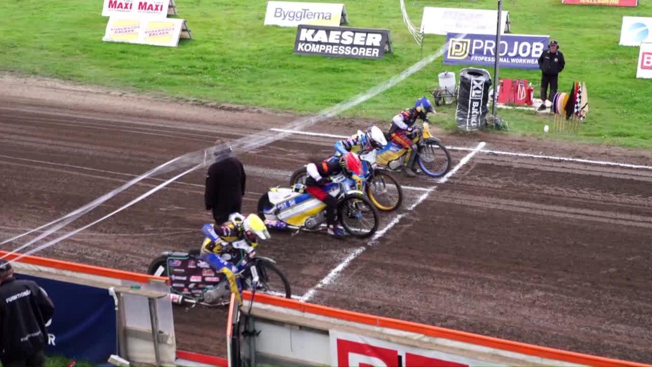 Highlights: Kumla Indianerna - Västervik Speedway