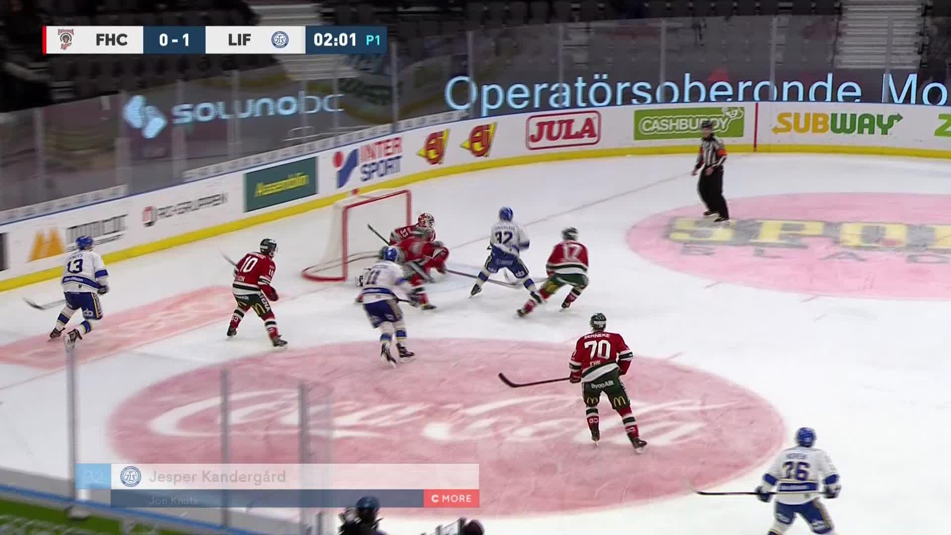 Frölunda HC - Leksands IF 0-2