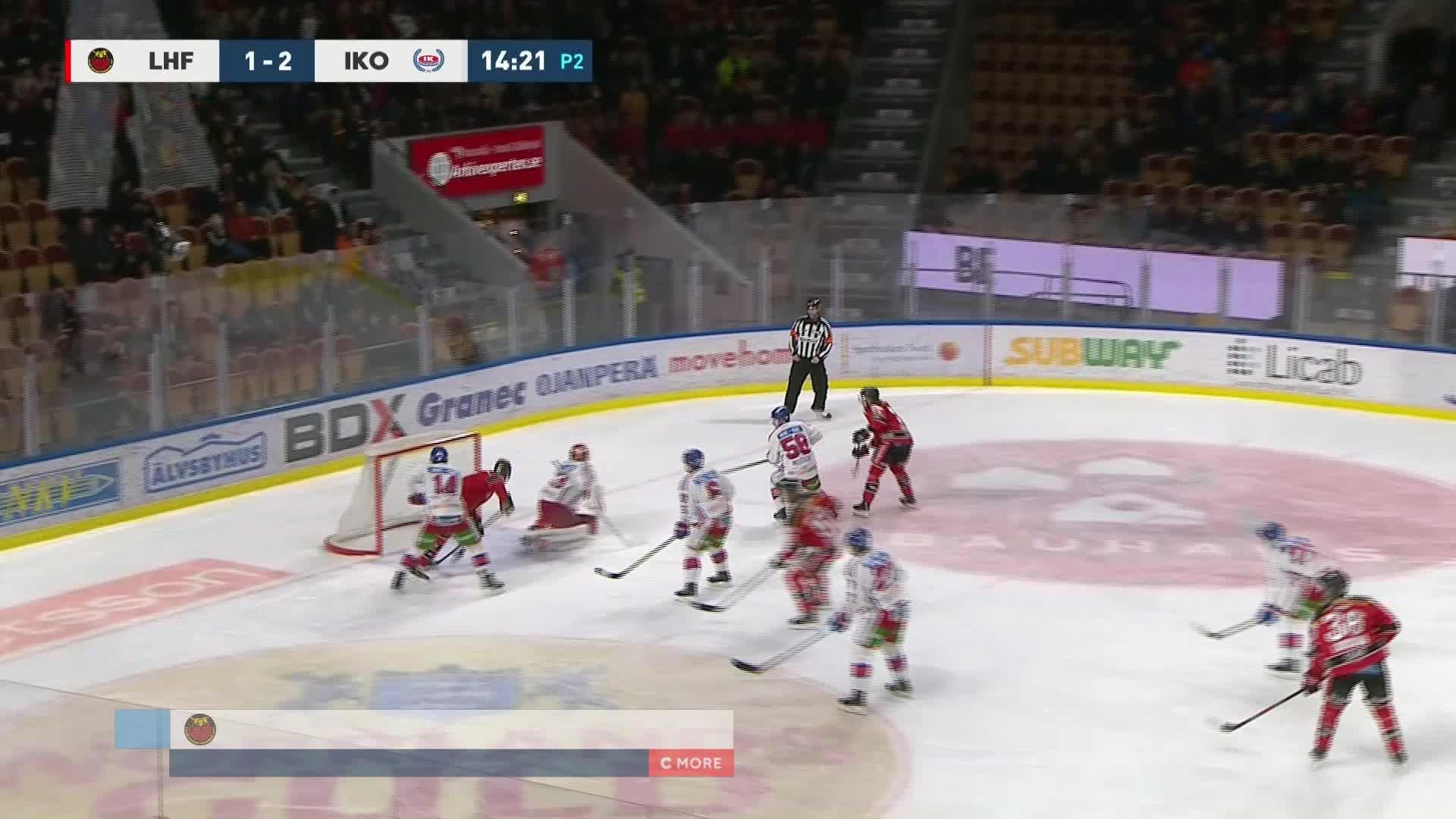 Luleå Hockey - IK Oskarshamn 2-2