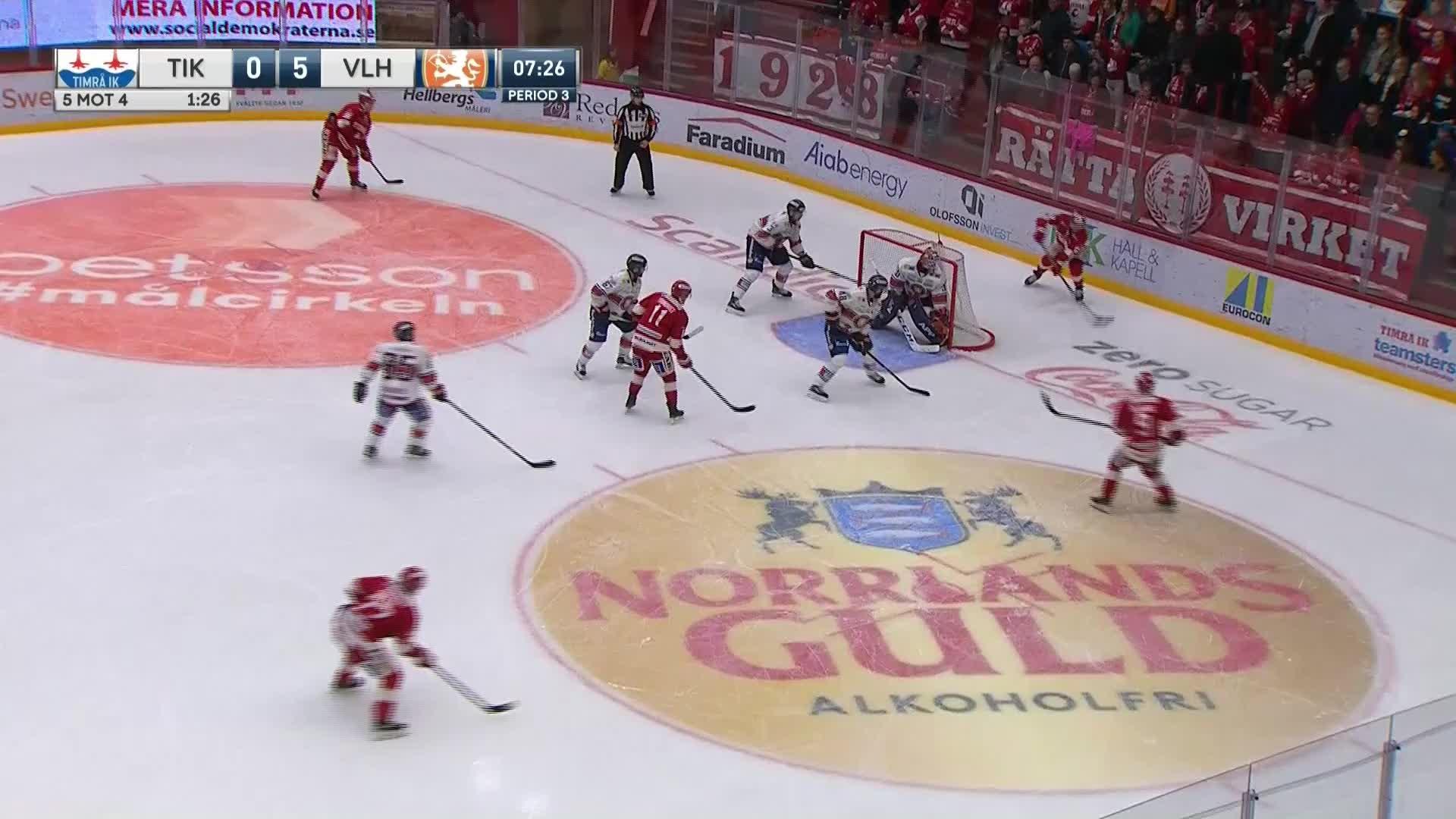 Timrå IK - Växjö Lakers 1-5