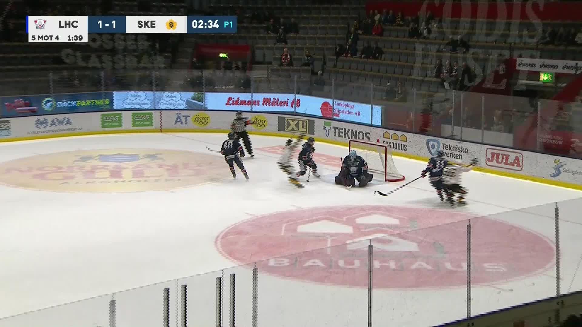 Linköping HC - Skellefteå AIK 1-2