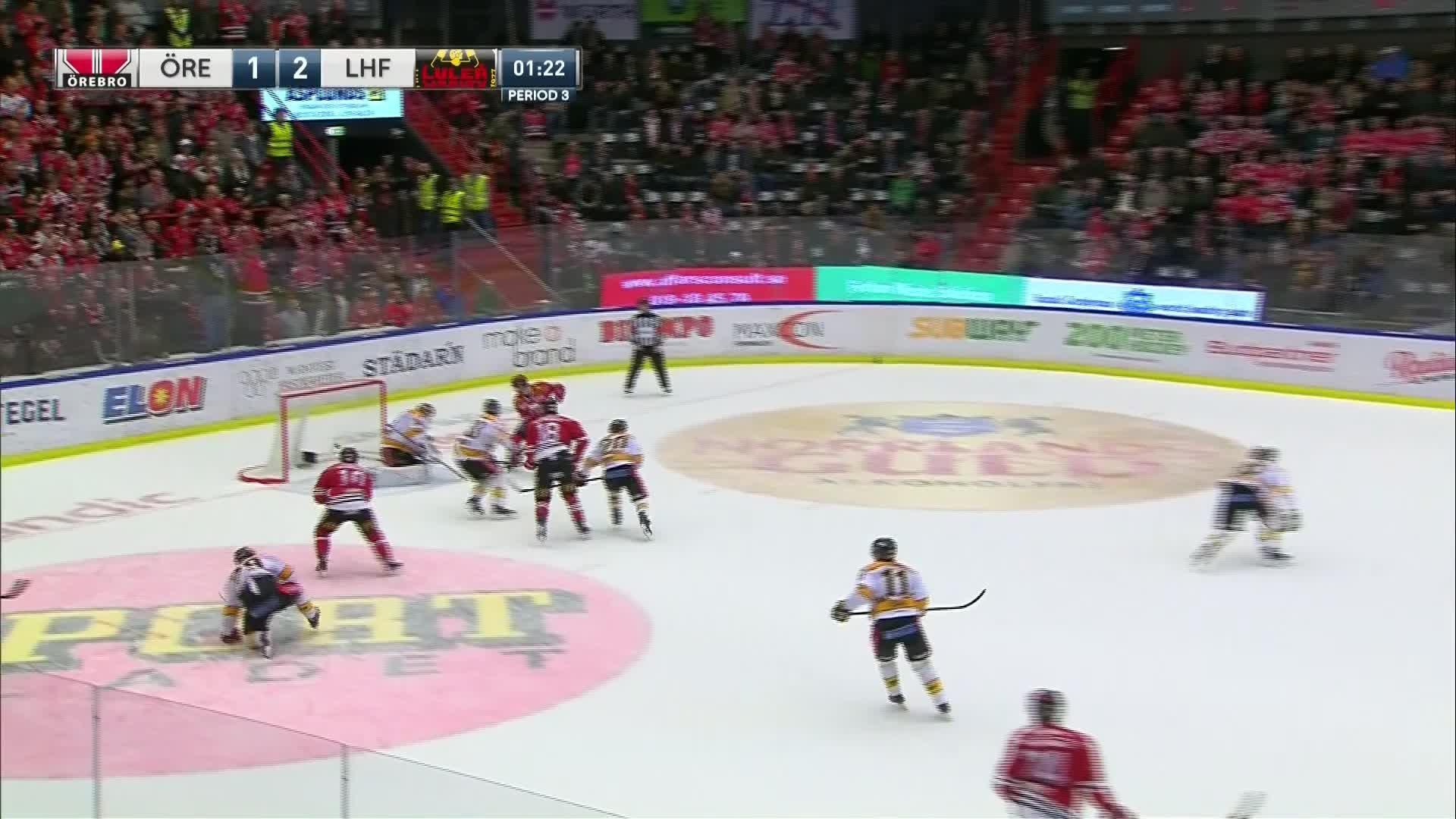 Örebro Hockey - Luleå Hockey 2-2