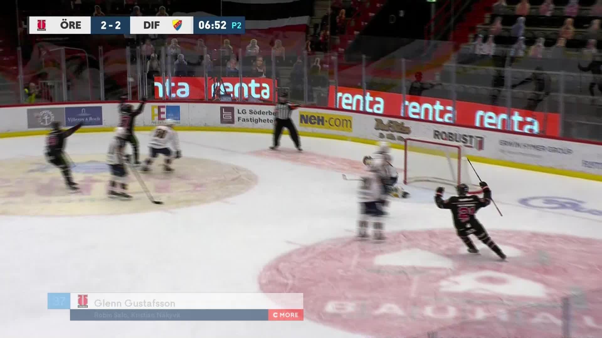 Örebro Hockey - Djurgården Hockey 3-2