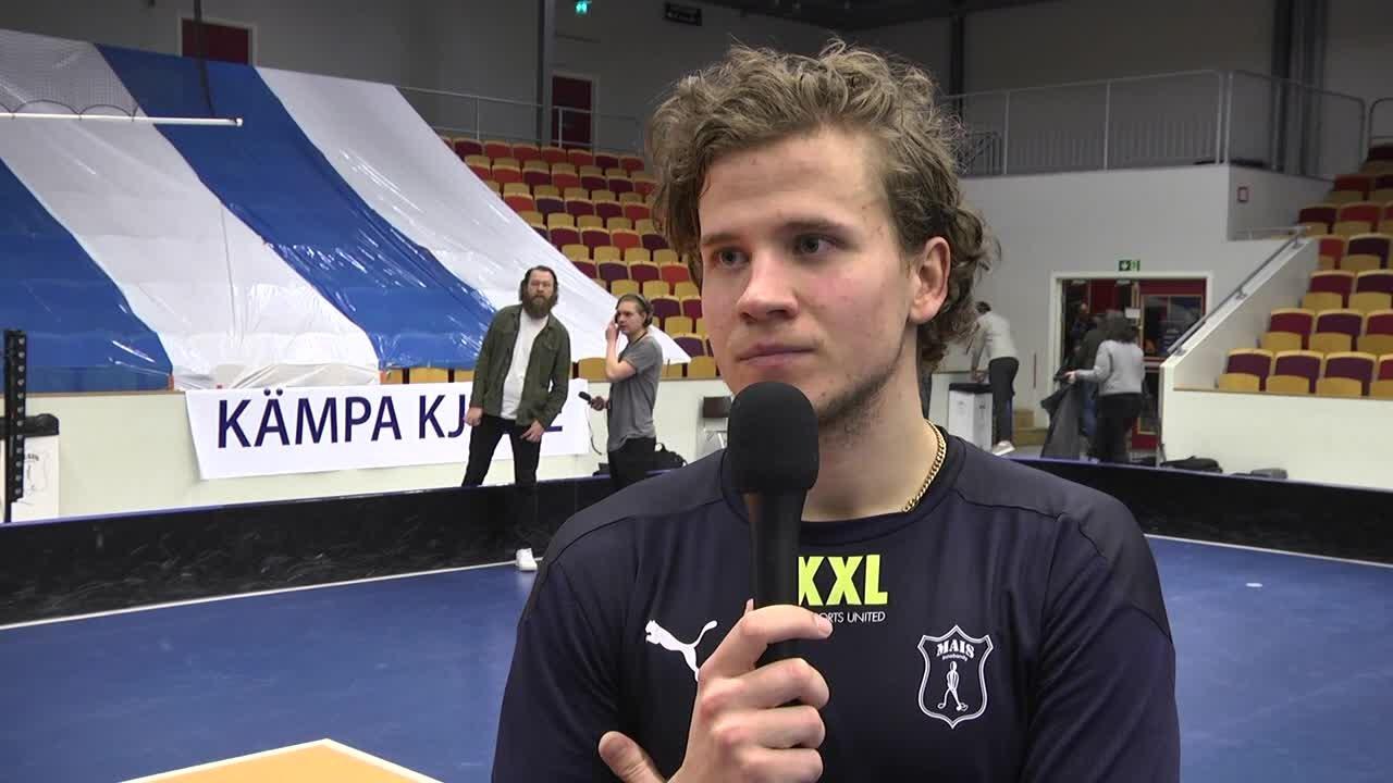 Jonathan Larsson efter Semifinal 2