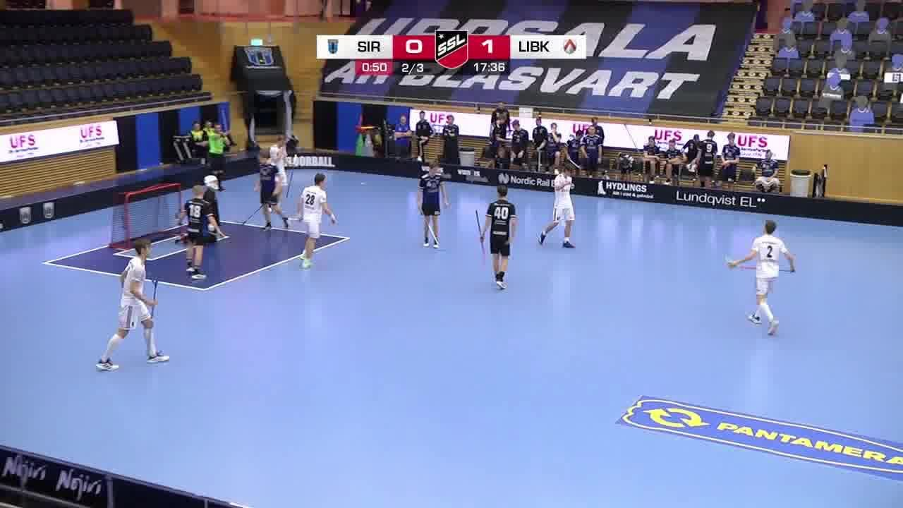 Highlights: Sirius Innebandy - Linköping Innebandy