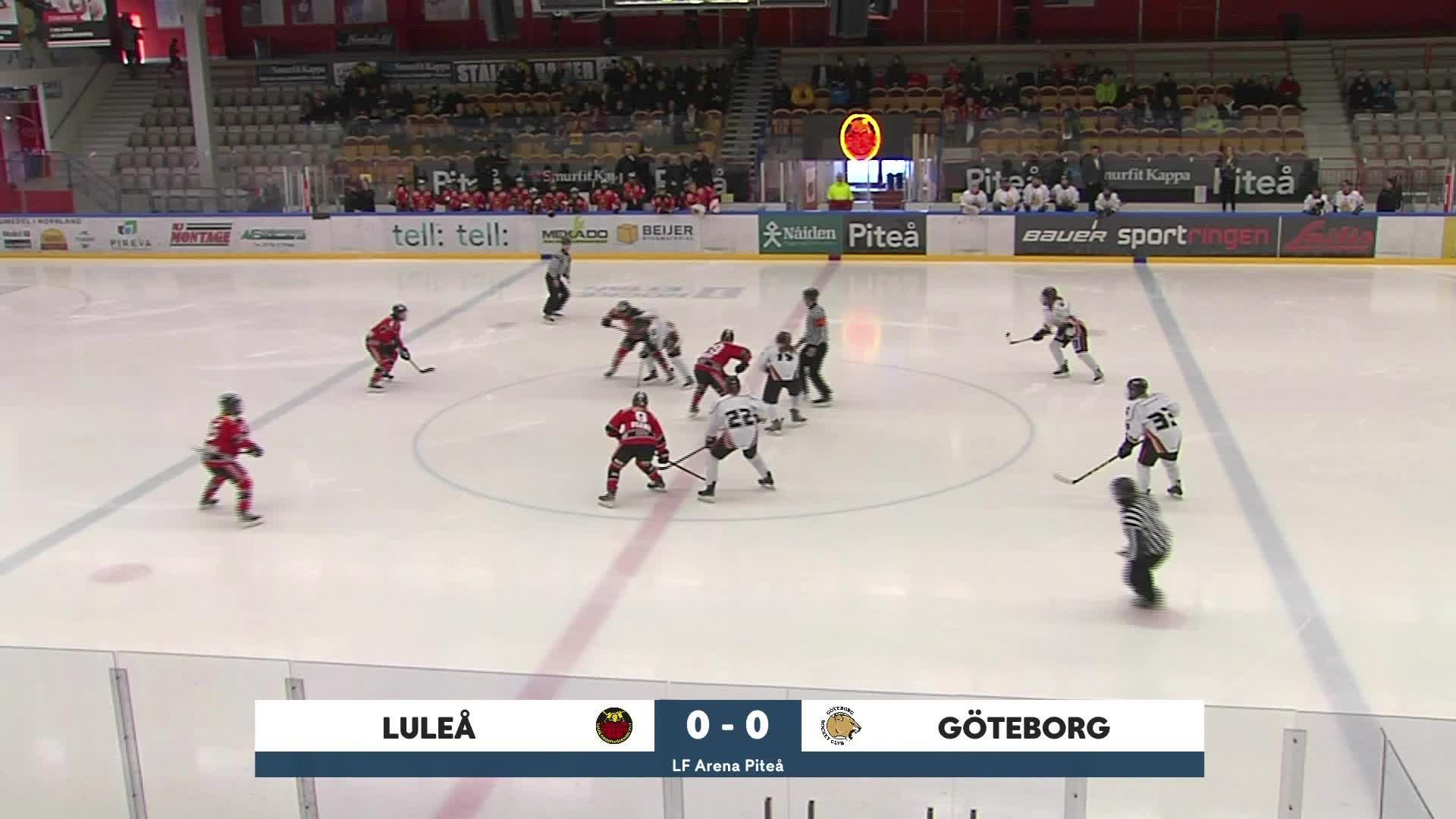 Highlights Luleå/MSSK-Göteborg HC 25 januari