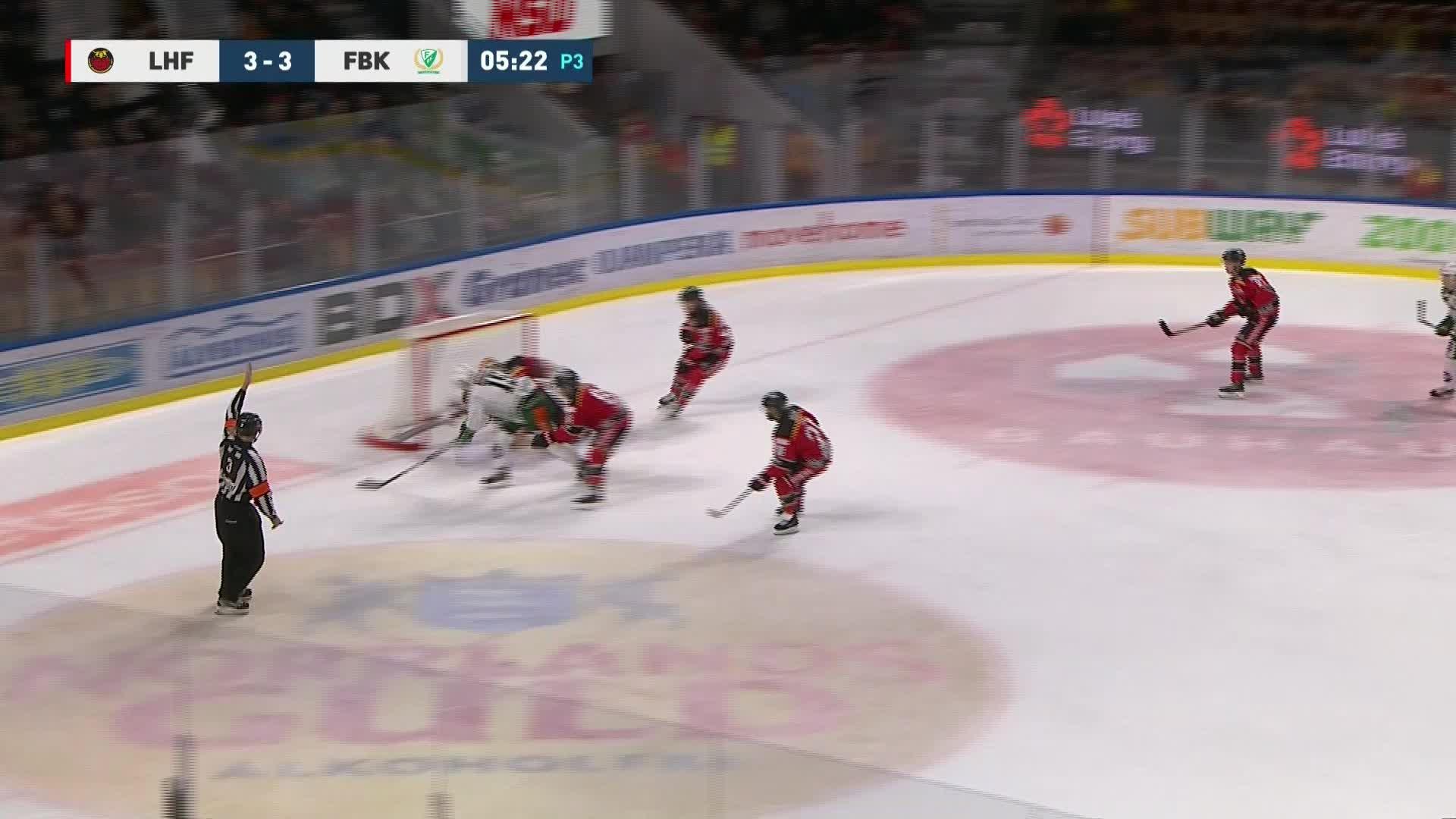 Luleå Hockey - Färjestad BK 3-4
