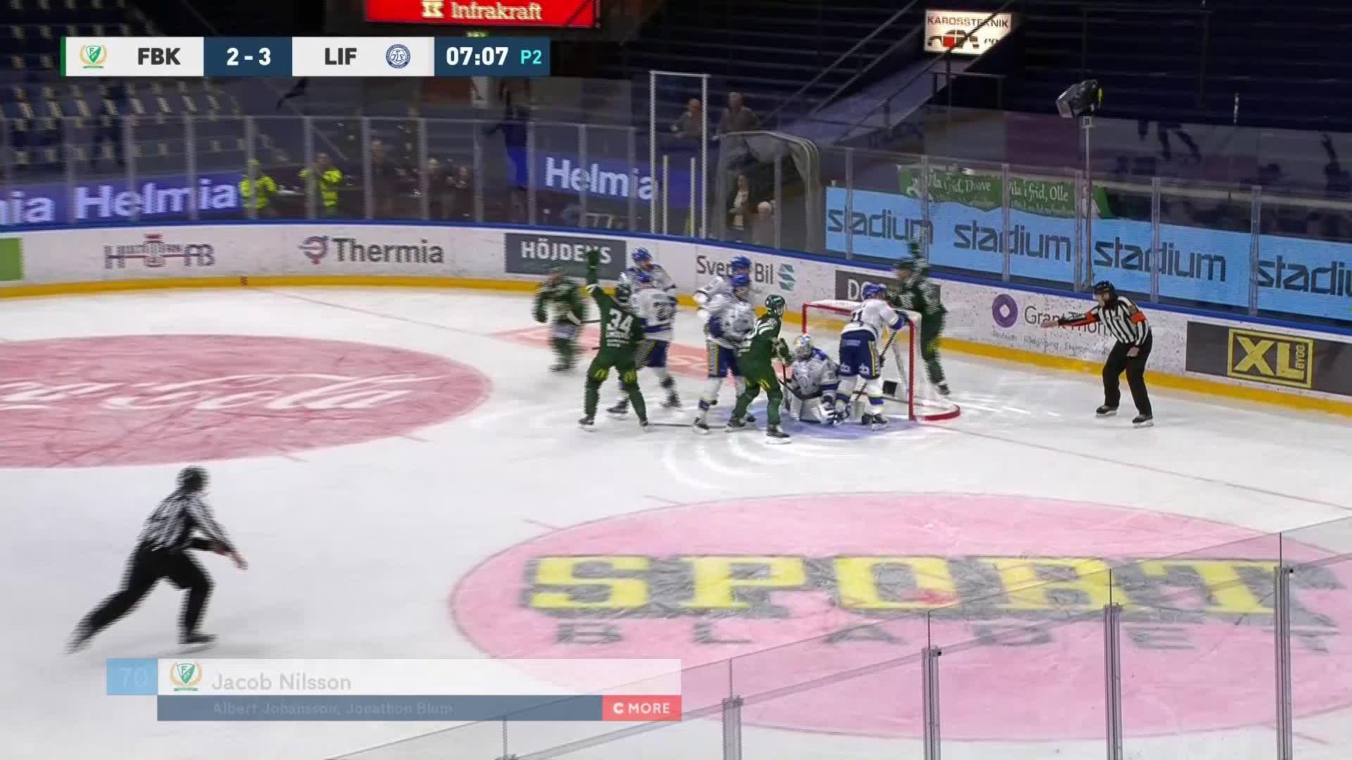 Färjestad BK - Leksands IF 3-3