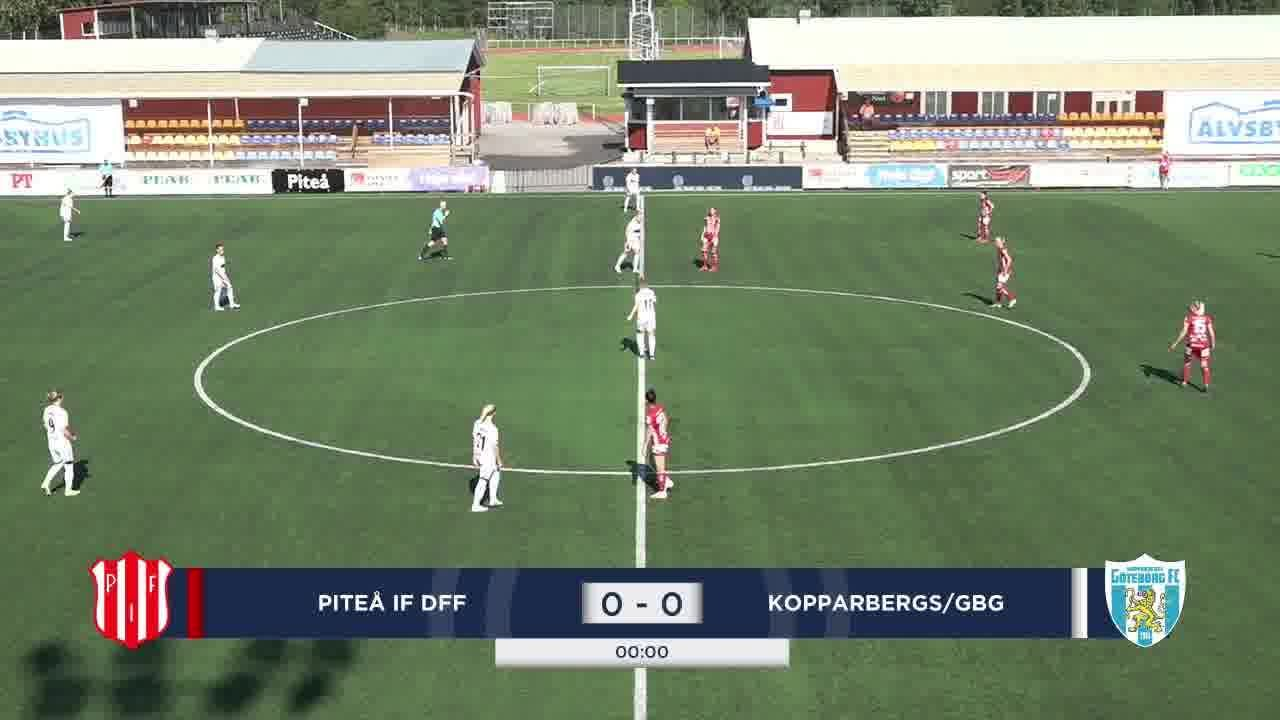 Highlights: Piteå - Kopparbergs/Gbg 8 aug