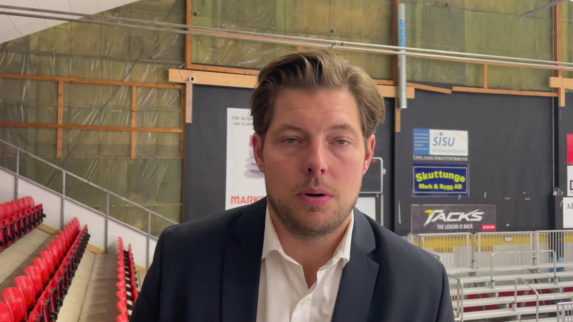 Mattias Zackrisson efter premiärsegern