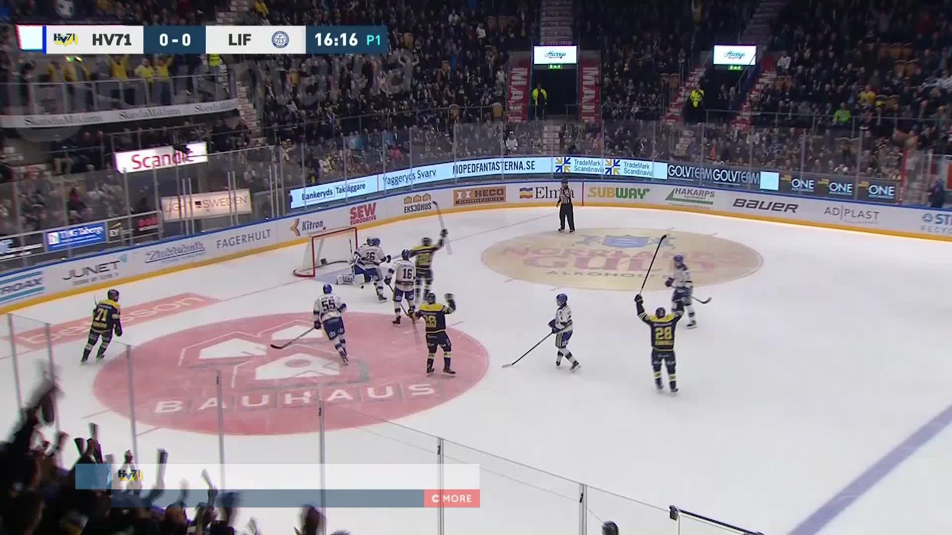 HV71 - Leksands IF 1-0