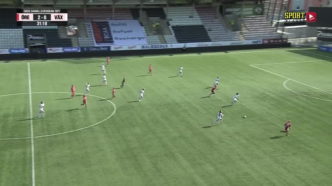Highlights: KIF Örebro - Växjö DFF