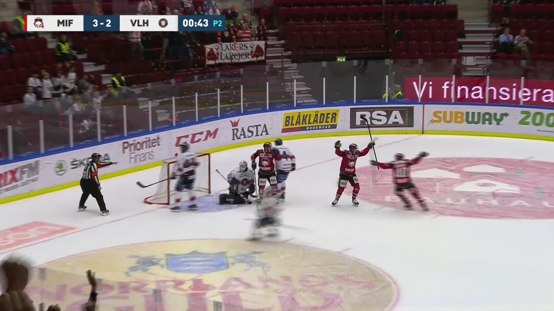 Malmö Redhawks - Växjö Lakers 4-2