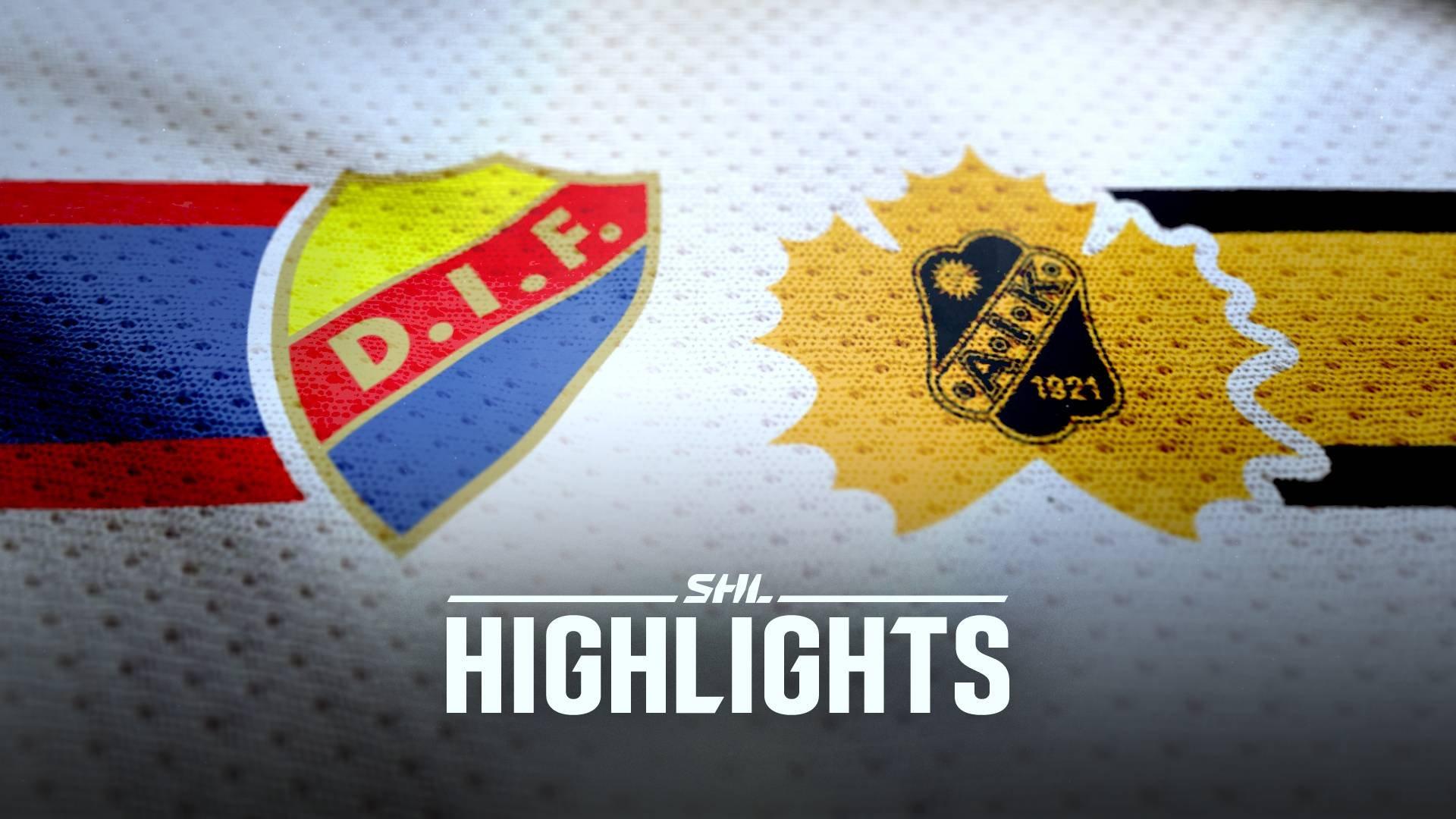 Djurgården Hockey - Skellefteå AIK