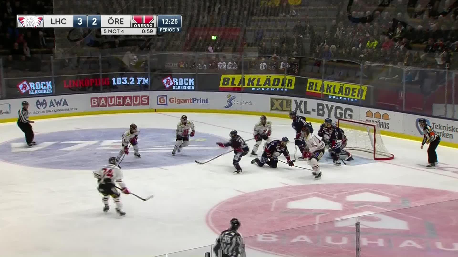 Linköping HC - Örebro Hockey 3-3