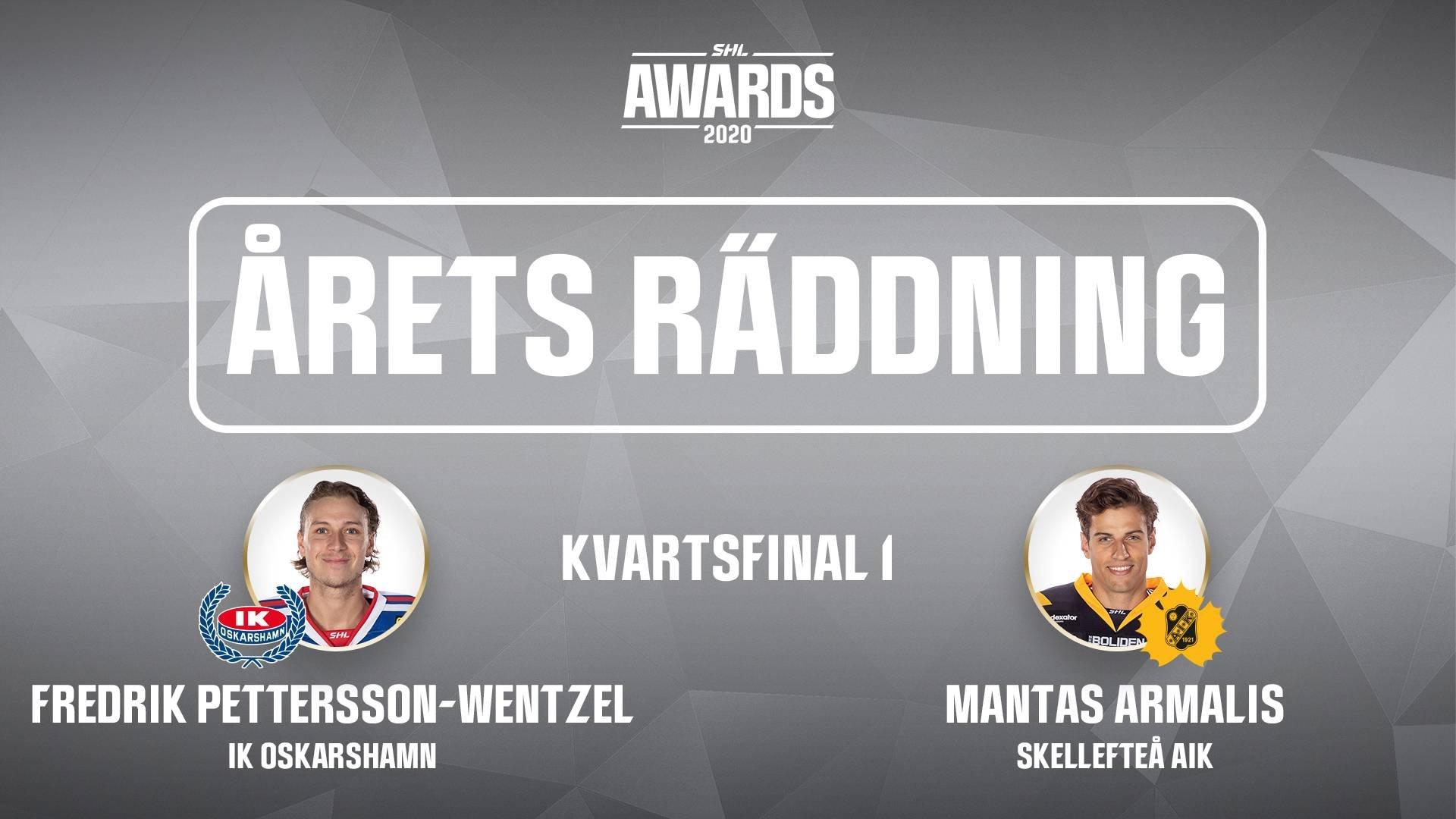 Årets räddning 2019/2020 - Kvartsfinal 1