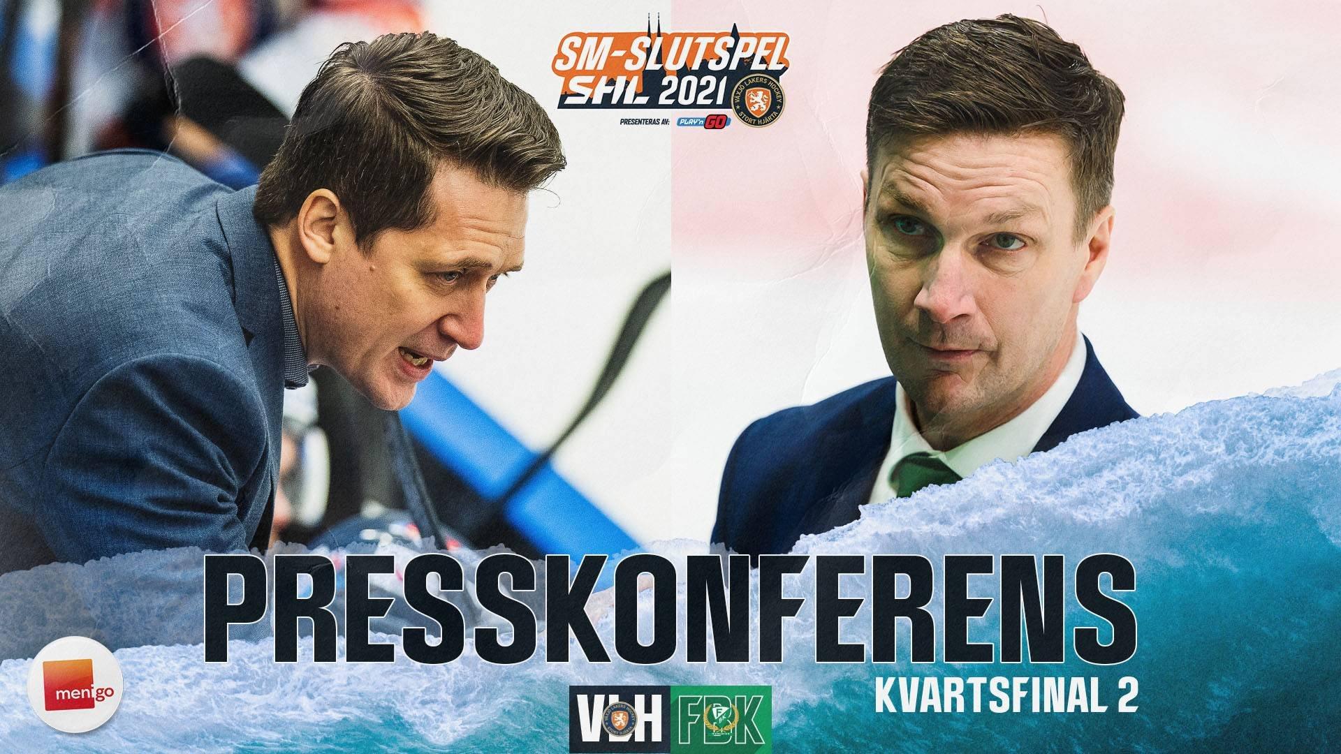 Presskonferens   Kvartsfinal 2
