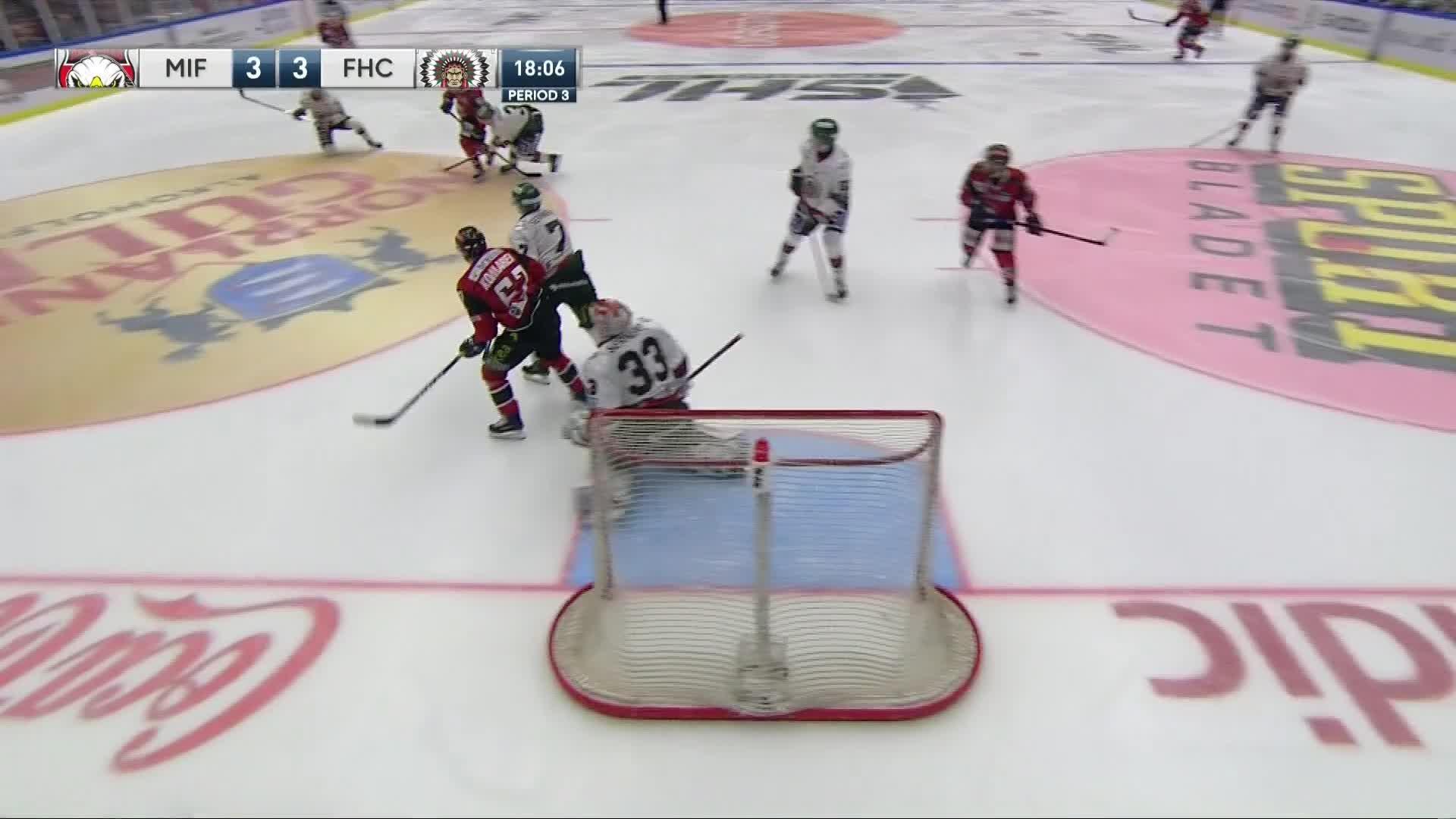Malmö Redhawks - Frölunda HC 3-3