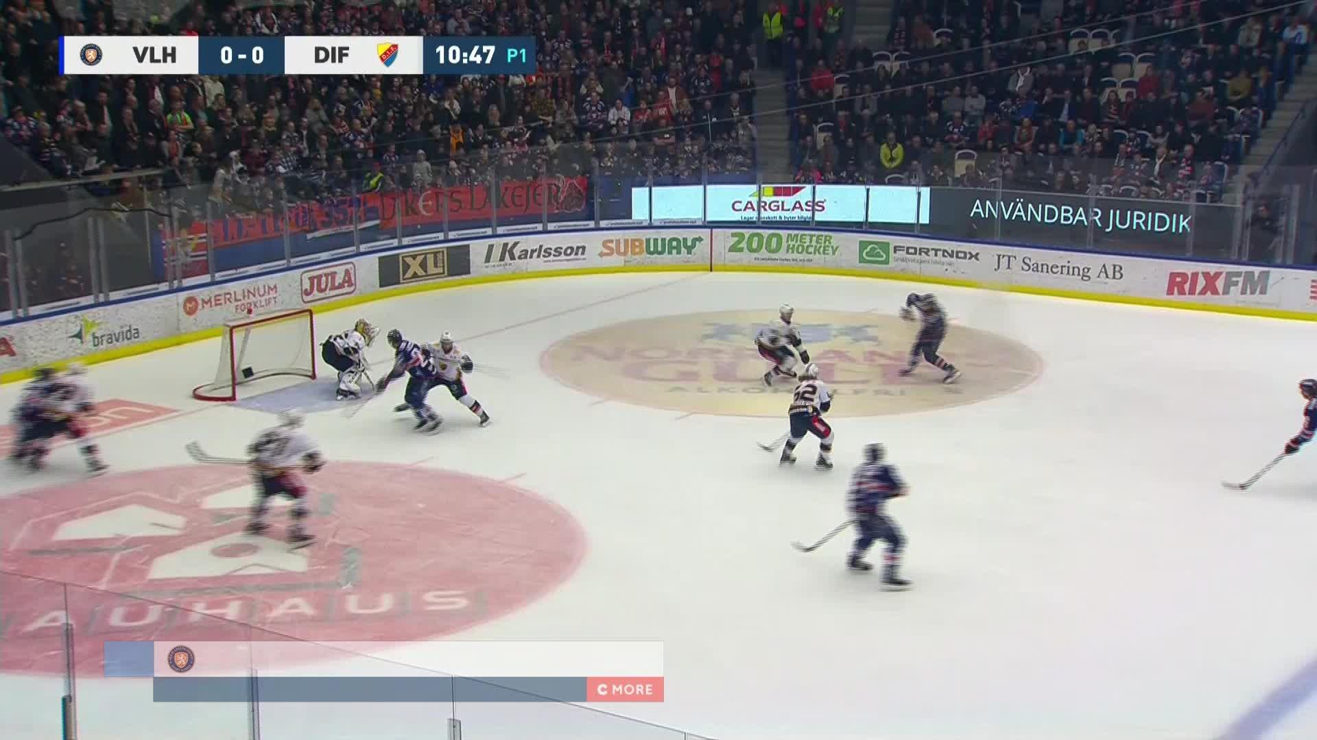 Växjö Lakers - Djurgården Hockey 1-0