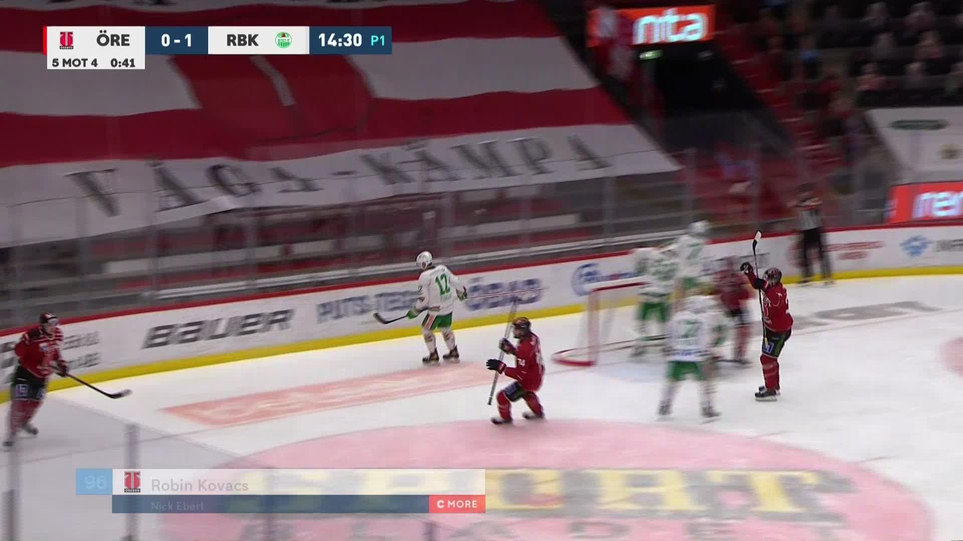 Örebro Hockey - Rögle BK 1-1