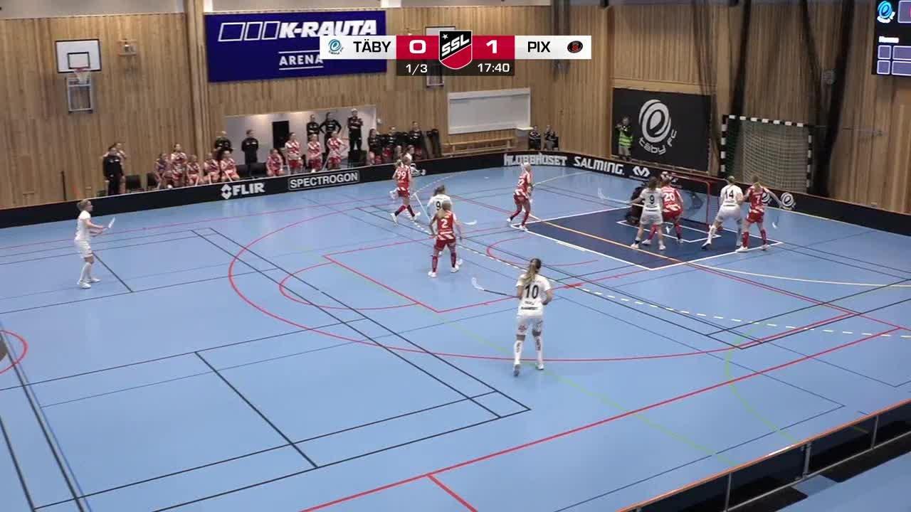 Highlights SSL: Täby - Pixbo