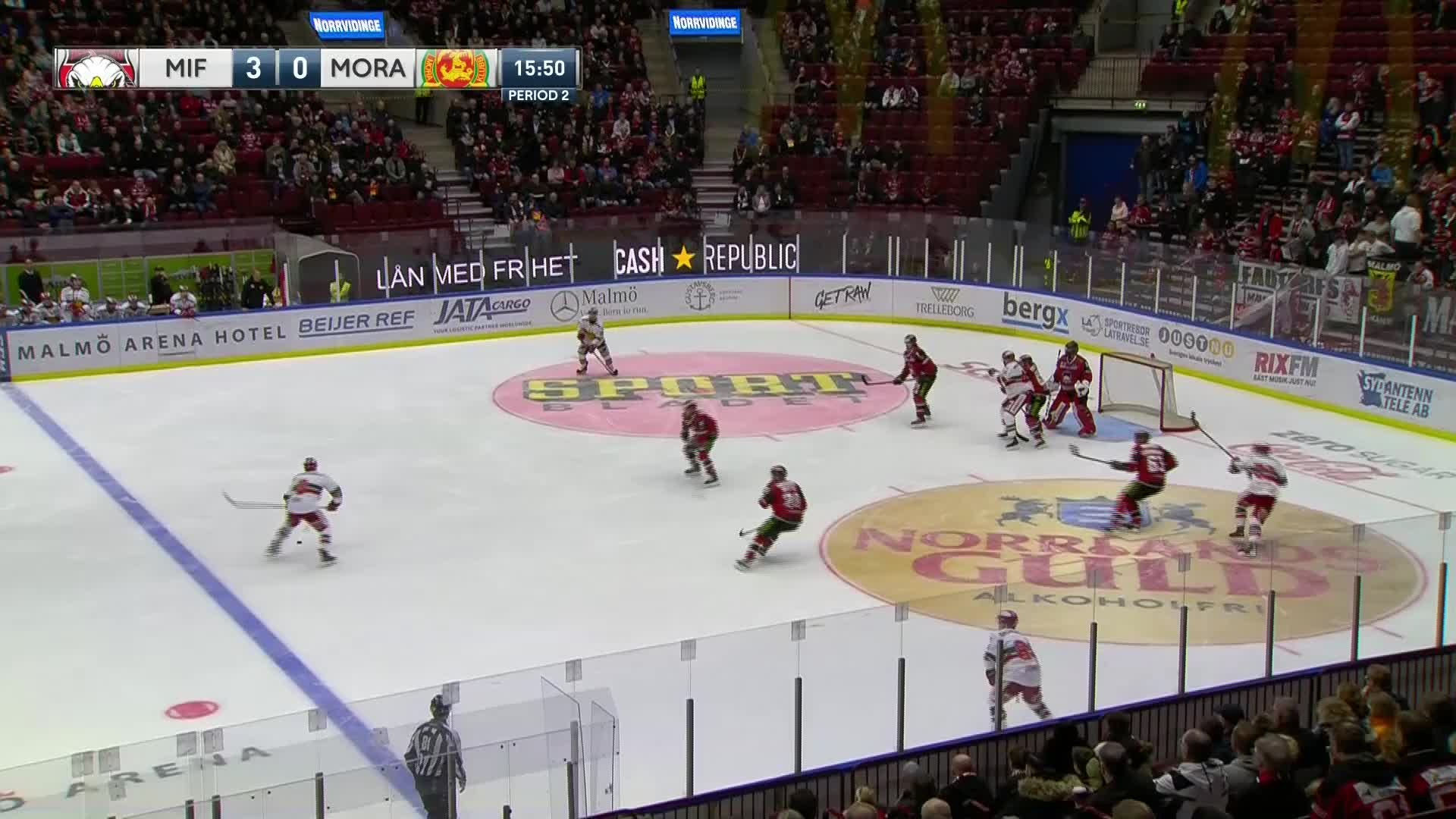 Malmö Redhawks - Mora IK 3-1