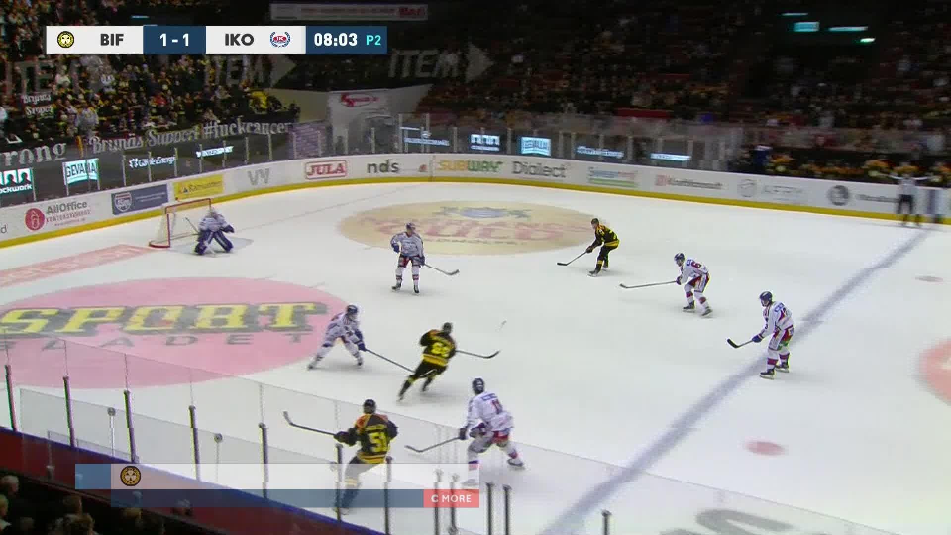 Brynäs IF - IK Oskarshamn 2-1