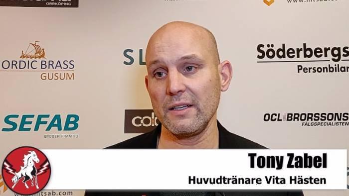 Tony Zabel efter Karlskrona