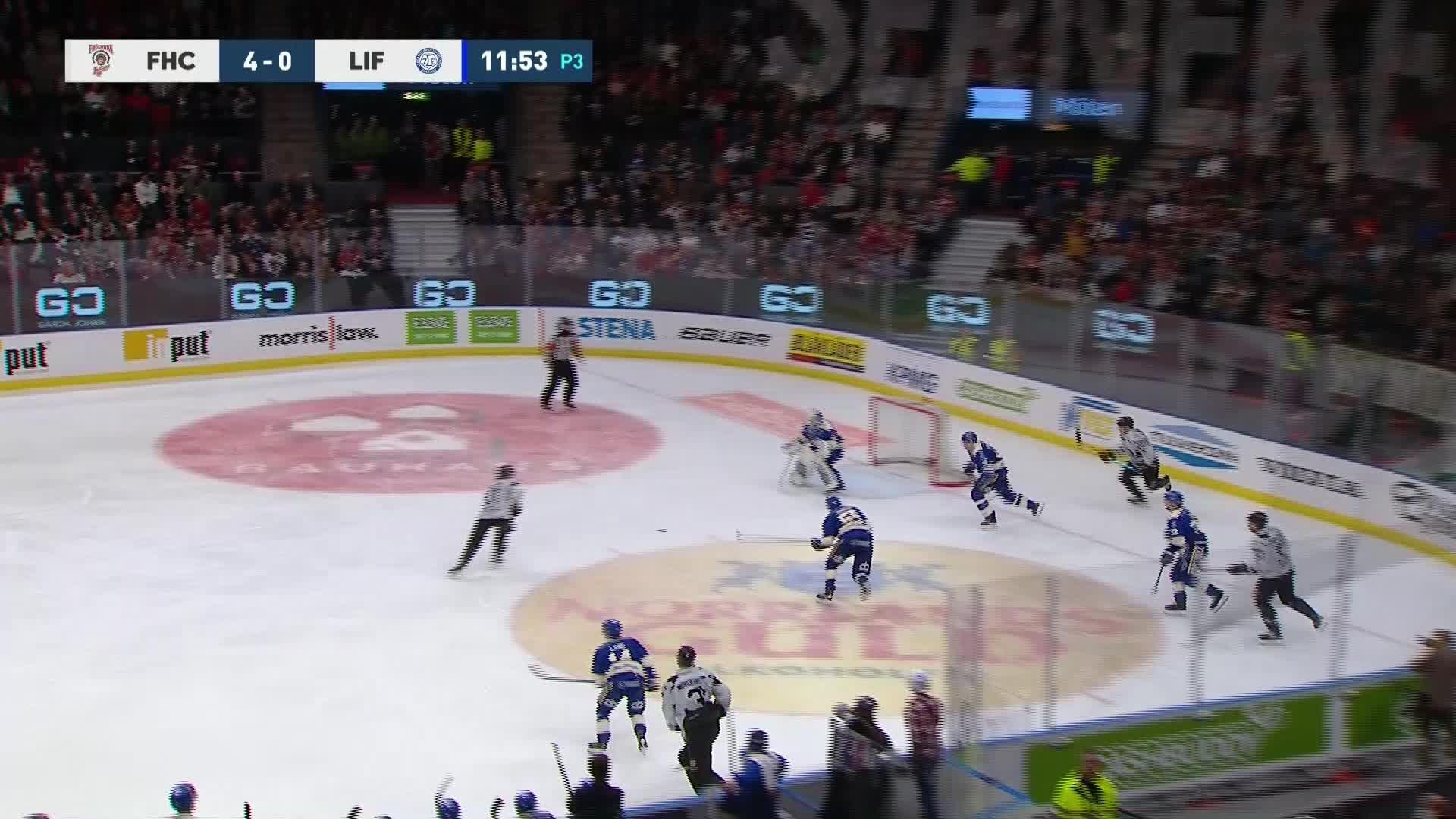 Frölunda HC - Leksands IF 5-0