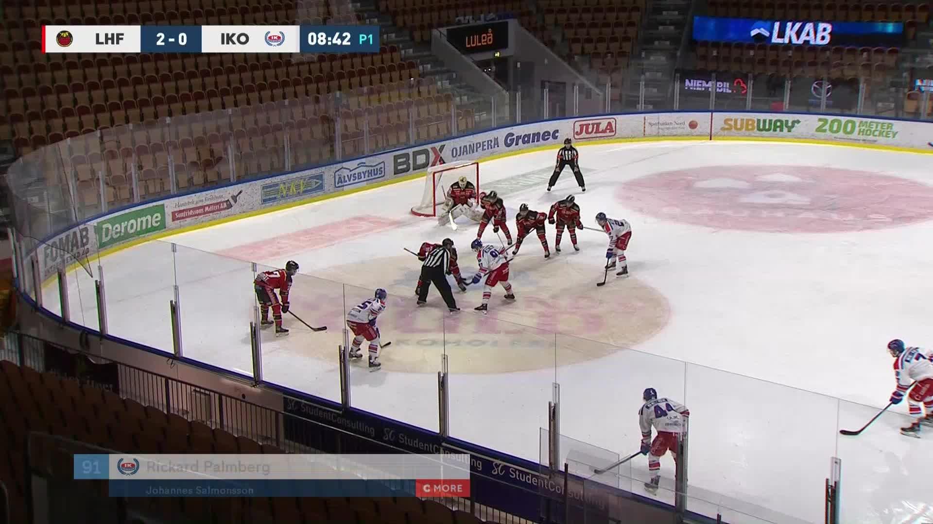 Luleå Hockey - IK Oskarshamn 2-1
