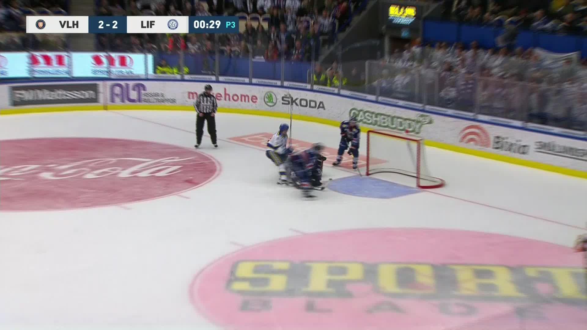 Växjö Lakers - Leksands IF 2-3