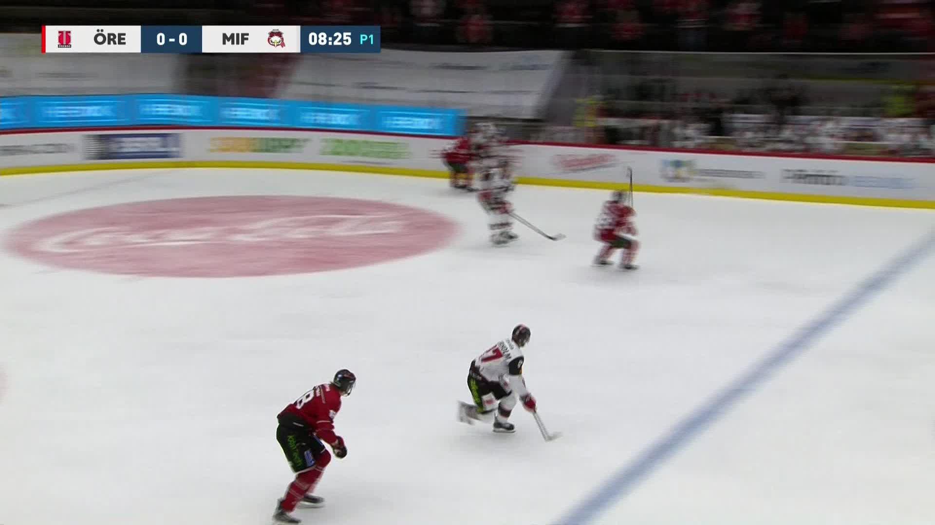 Örebro Hockey - Malmö Redhawks 0-1