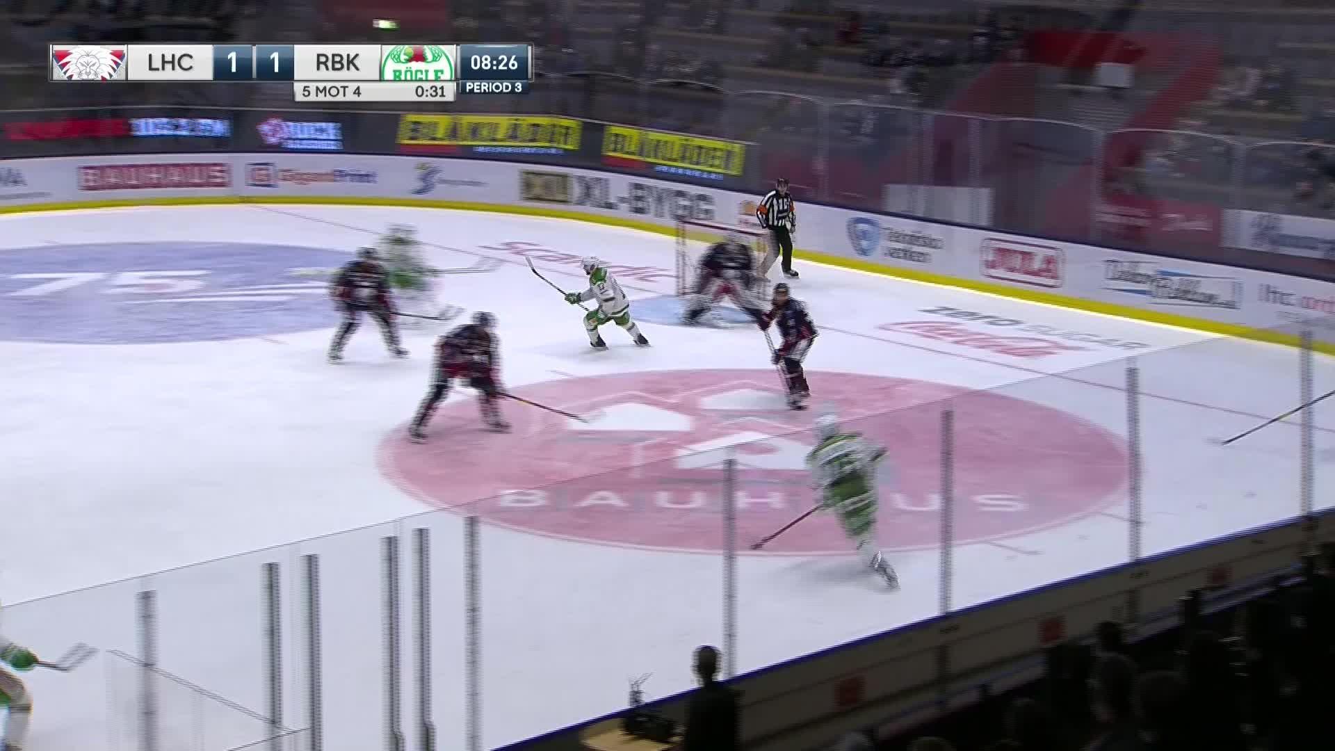 Linköping HC - Rögle BK 1-2