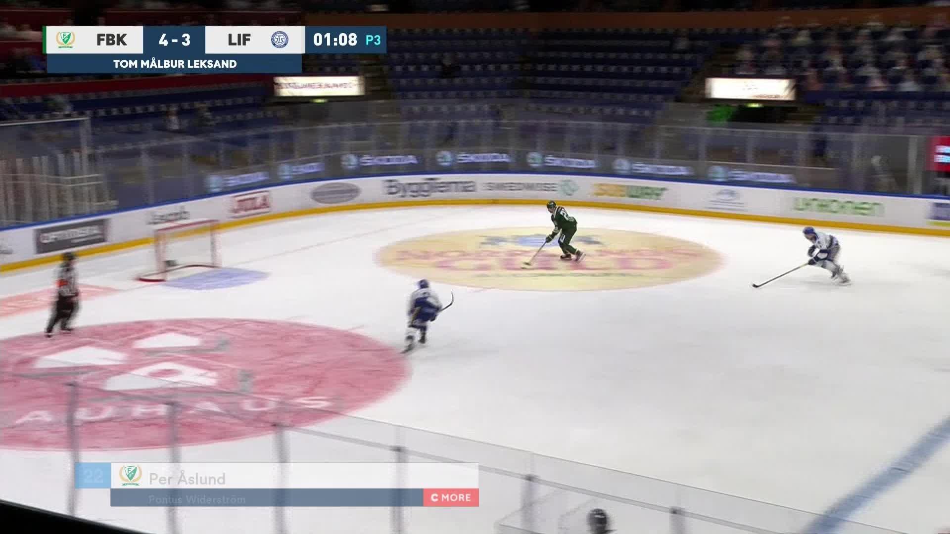 Färjestad BK - Leksands IF 5-3