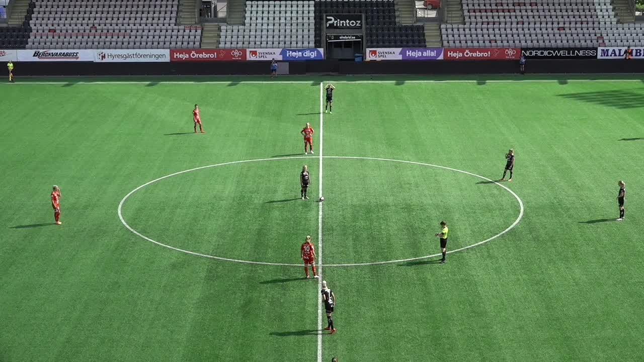 Highlights: KIF Örebro - Växjö 19 juli