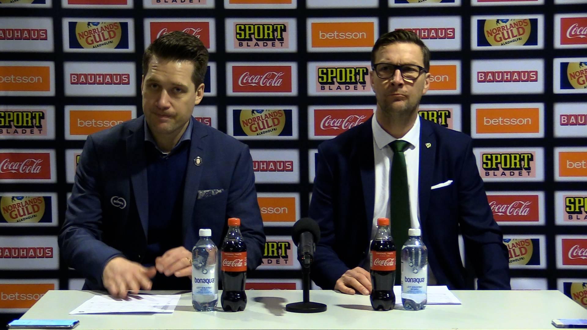 Presskonferens | Kvartsfinal 3