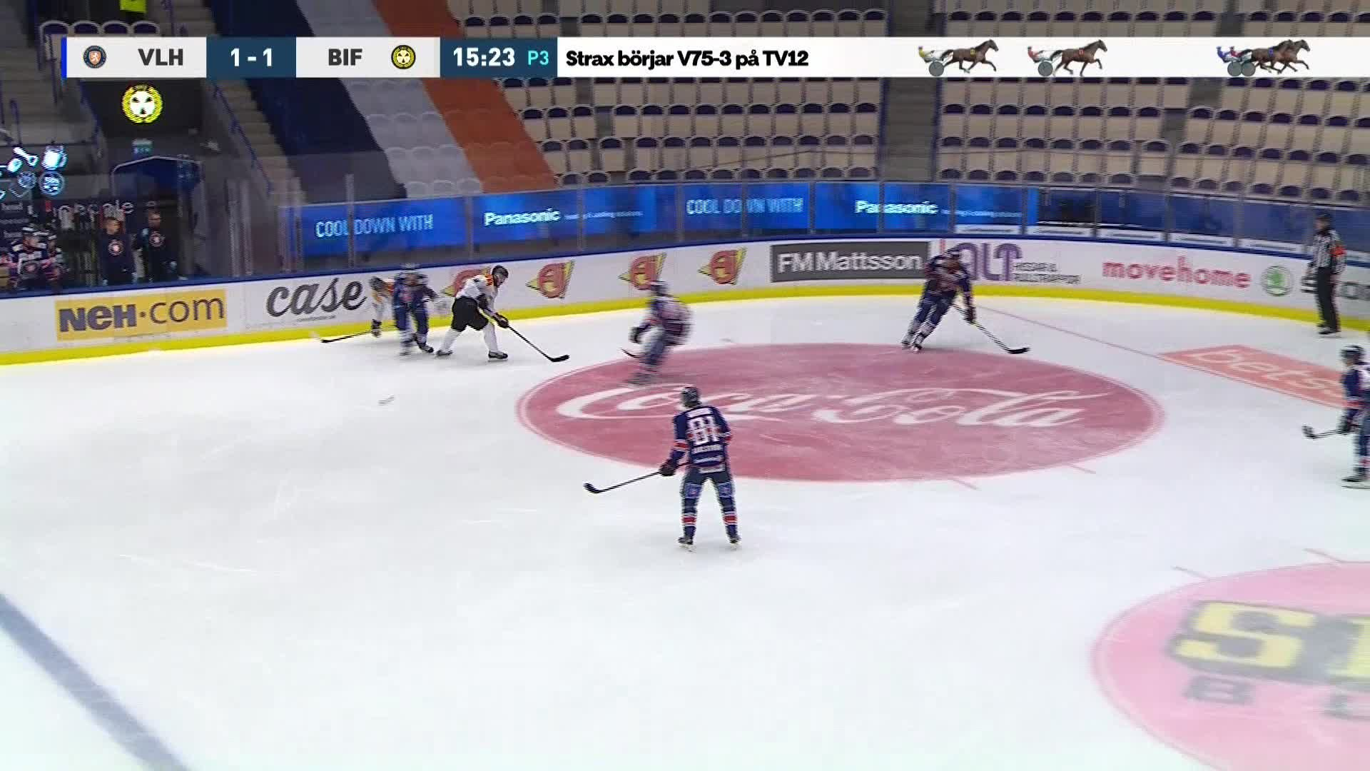 Växjö Lakers - Brynäs IF 2-1