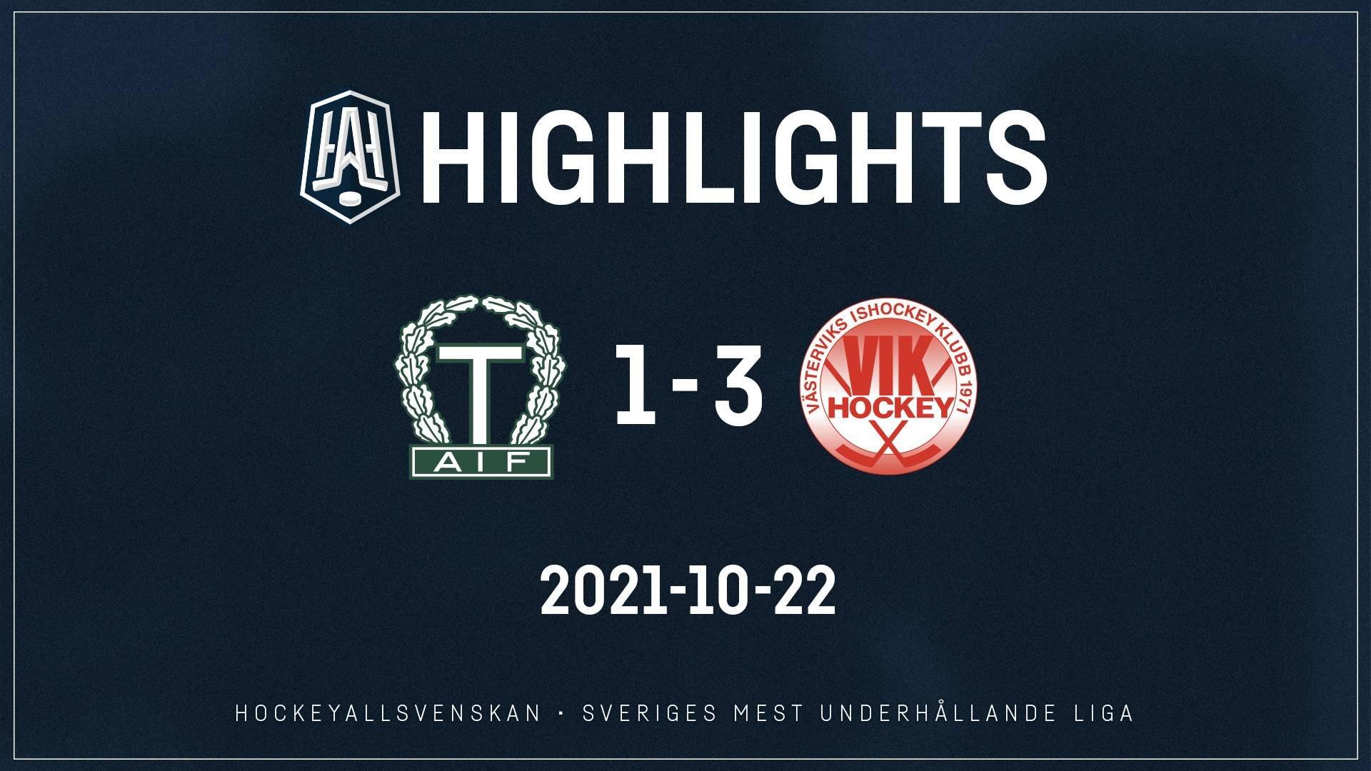2021-10-22 Tingsryd - Västervik 1-3