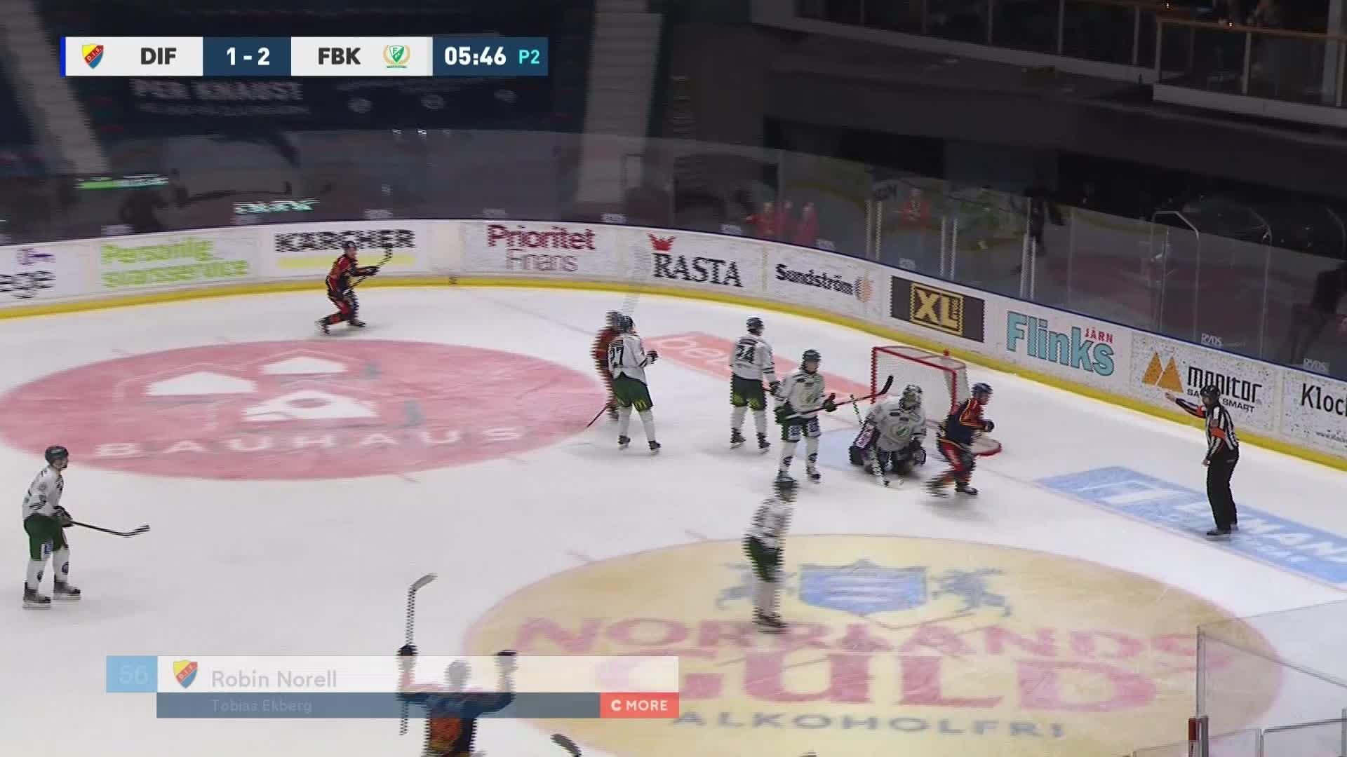 Djurgården Hockey - Färjestad BK 2-2