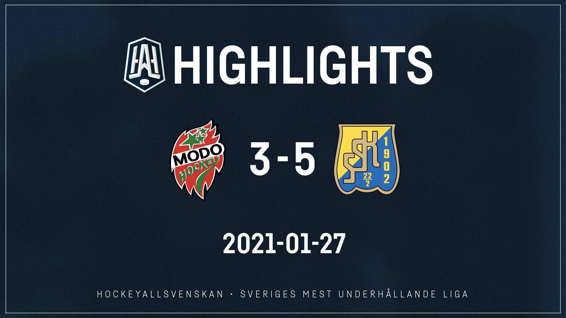 2021-01-27 MODO - Södertälje 3-5