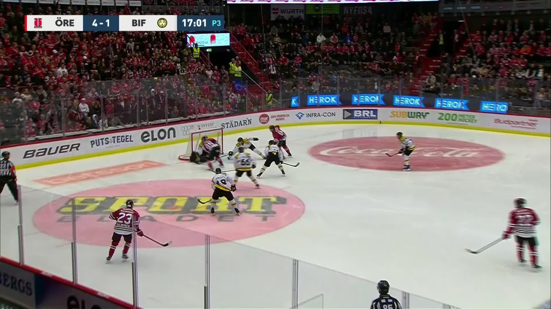 Örebro Hockey - Brynäs IF 5-1