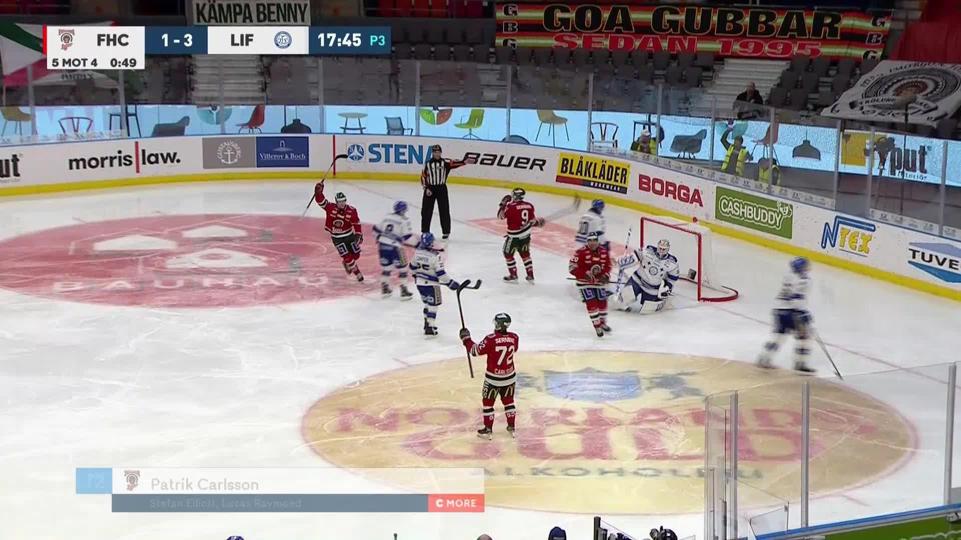 Frölunda HC - Leksands IF 2-3