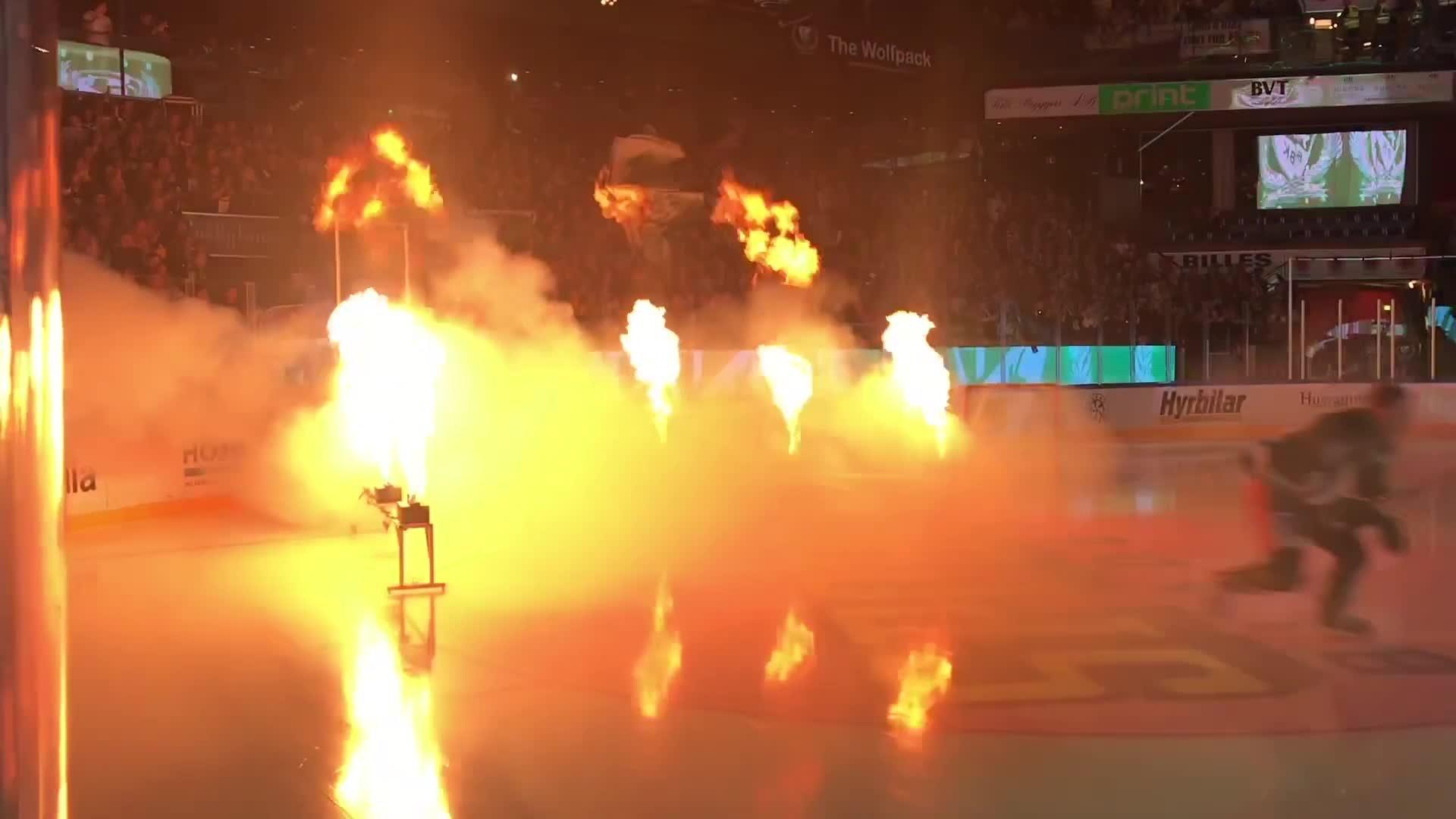 Eftersnack från Löfbergs Arena