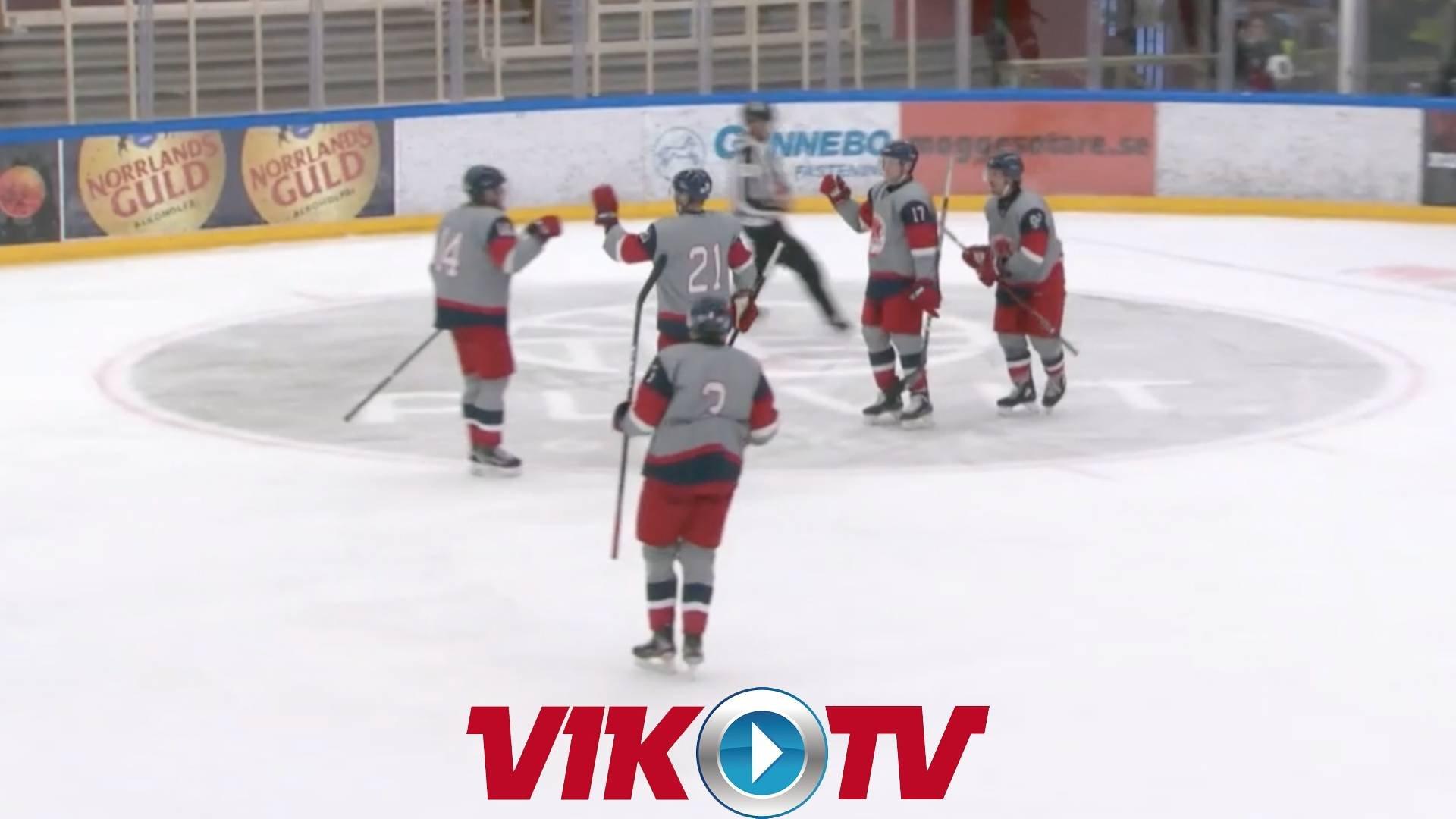 Highlights från träningsmatchen mot HV71.