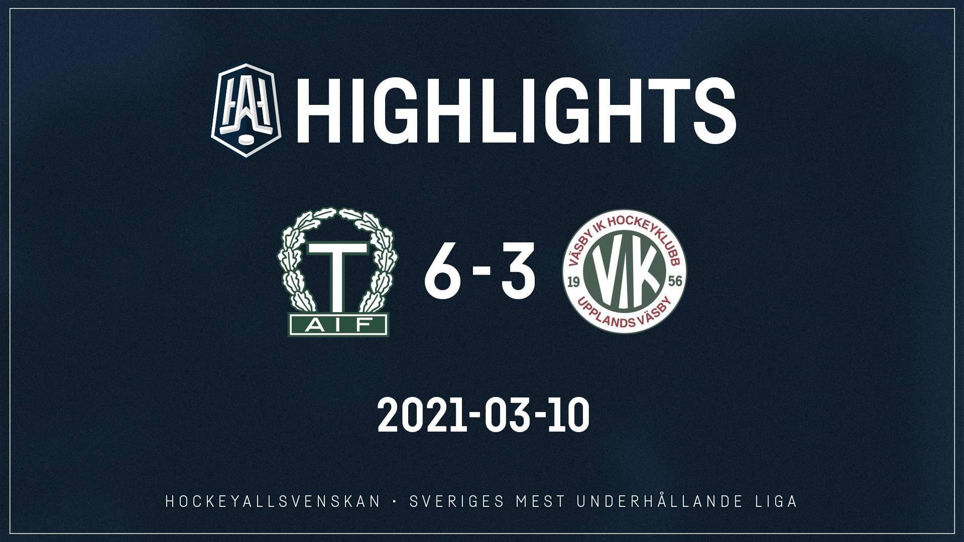 2021-03-10 Tingsryd - Väsby 6-3