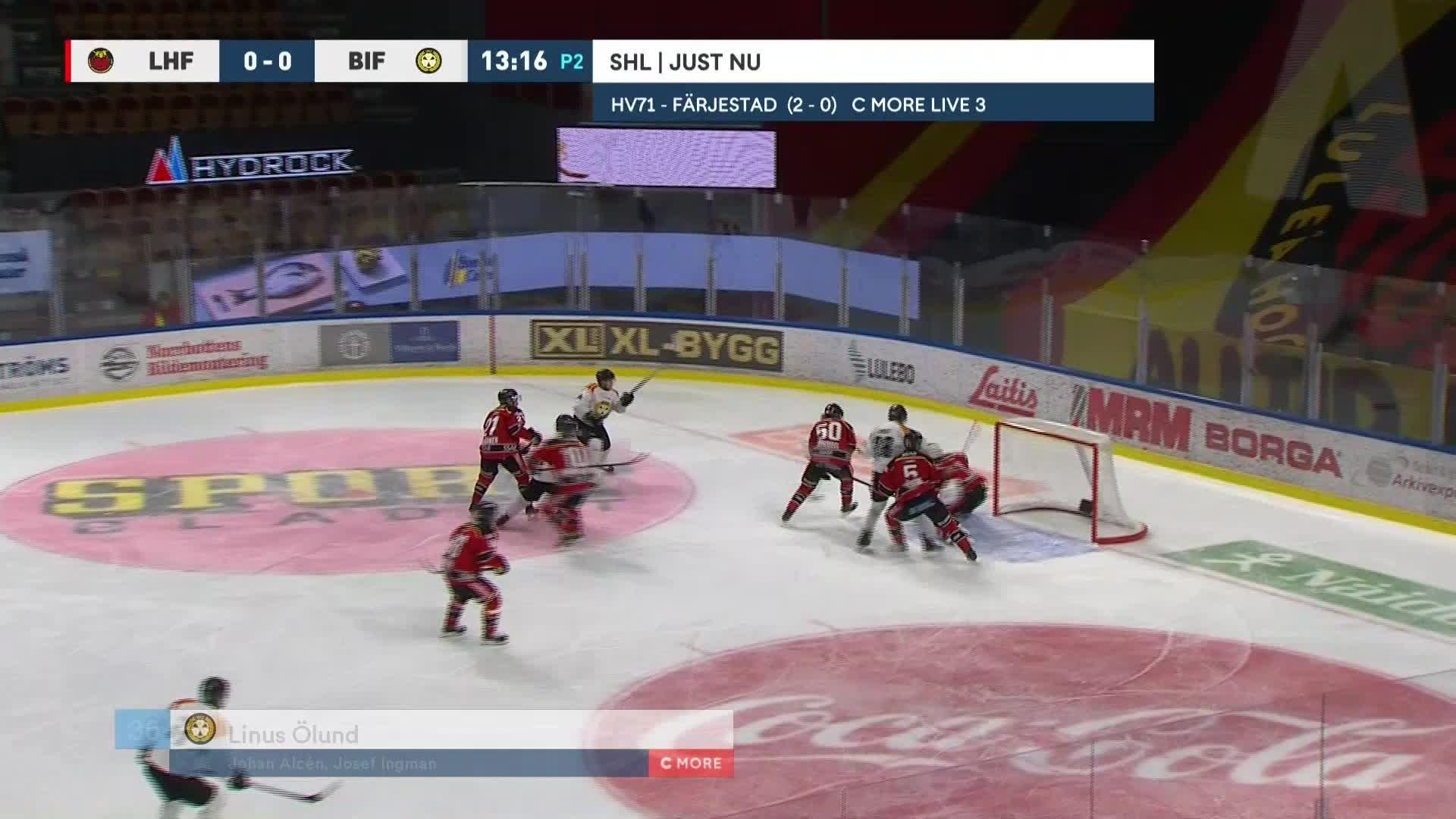 Luleå Hockey - Brynäs IF 0-1