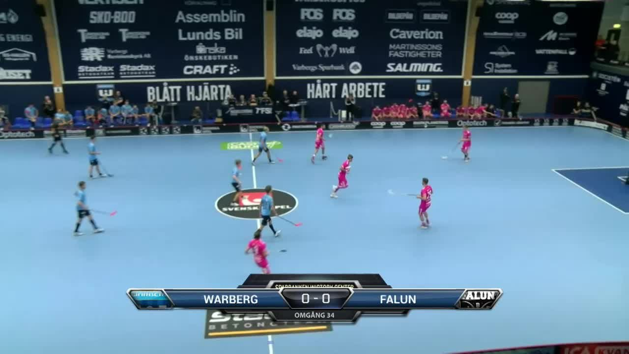 Highlights Warberg-Falun 8 mars